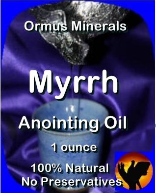 Ormus Minerals Myrrh Anointing Oil