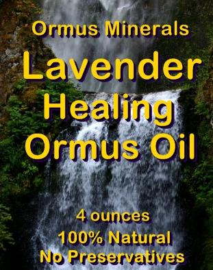 Ormus Minerals Lavender Healing Ormus Oil
