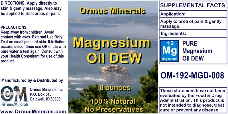 Magnesium Dew