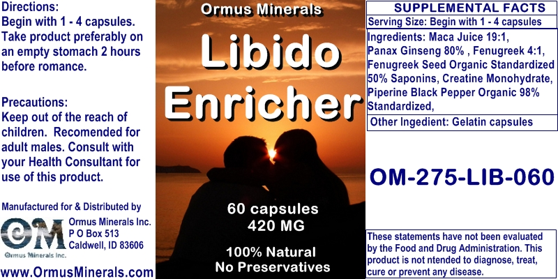 Ormus Minerals - Libido Enricher